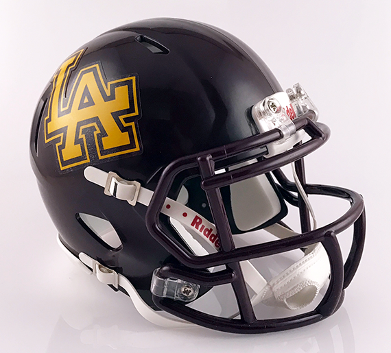 Loyola Academy (IL), Mini Football Helmet - T-Mac Sports