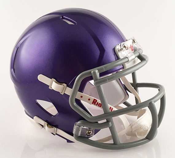 Lucasville Valley, Mini Football Helmet - T-Mac Sports