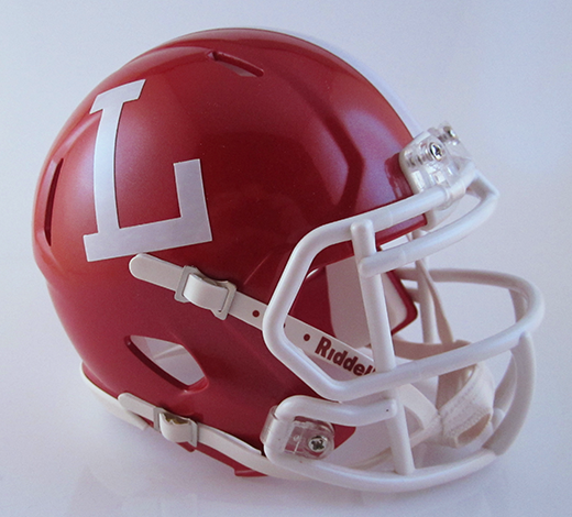 Lutheran (CA), Mini Football Helmet - T-Mac Sports