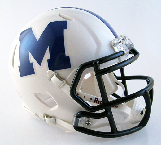 Madison, Mini Football Helmet - T-Mac Sports