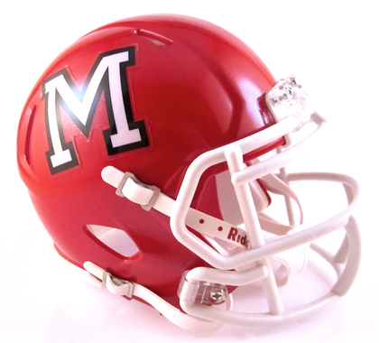 Maize (KS), Mini Football Helmet - T-Mac Sports