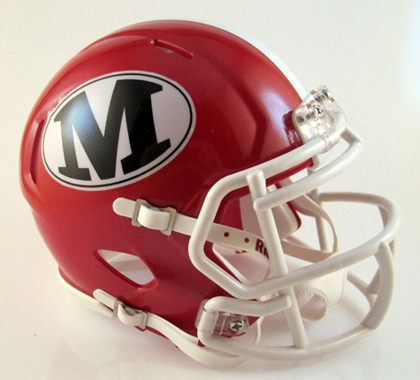 Marion County (GA), Mini Football Helmet - T-Mac Sports