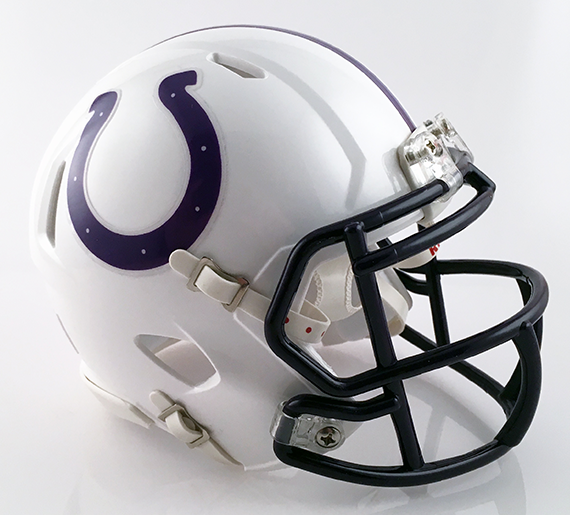 Martins Ferry, Mini Football Helmet - T-Mac Sports