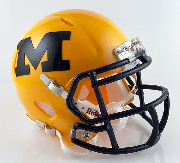 McKinney (TX), Mini Football Helmet - T-Mac Sports