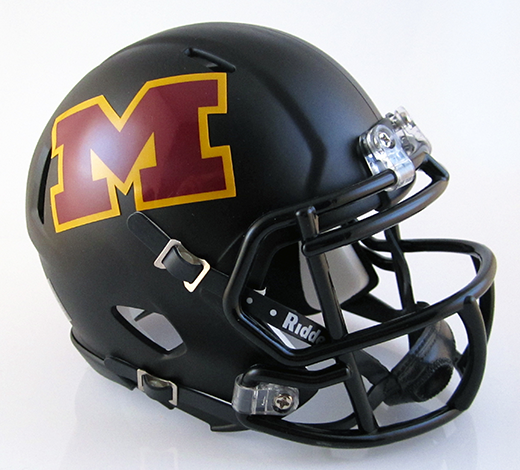 Meigs, Mini Football Helmet - T-Mac Sports