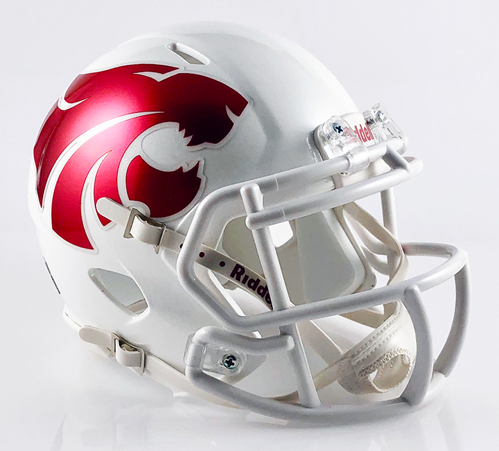 Mesquite Horn (Alt) (TX), Mini Football Helmet - T-Mac Sports