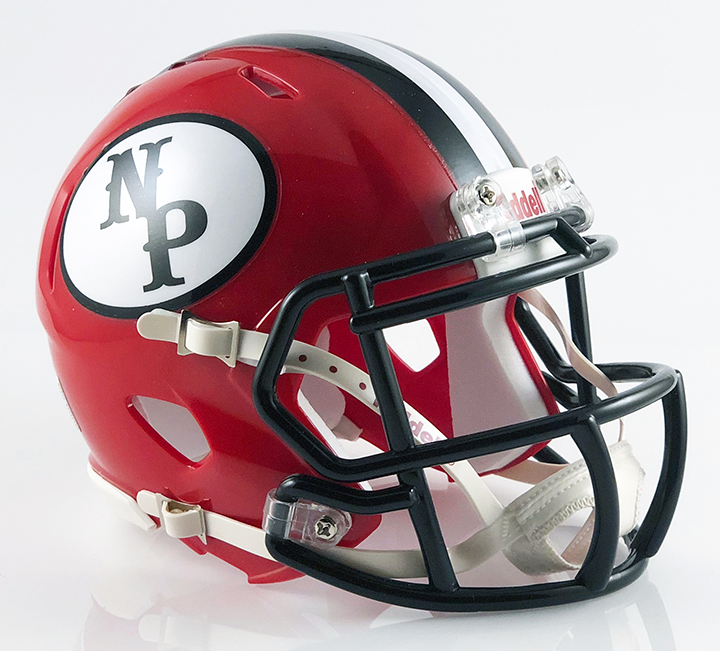 New Philadelphia, Mini Football Helmet - T-Mac Sports