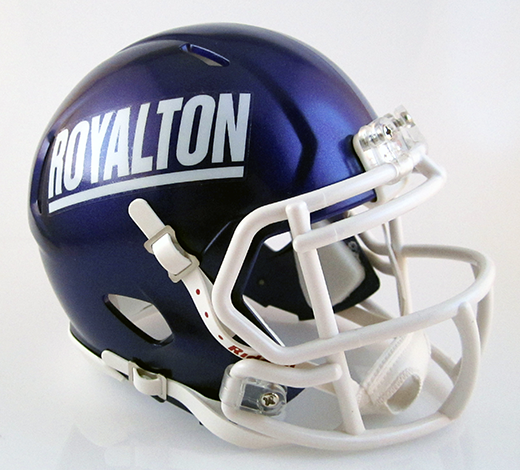 North Royalton, Mini Football Helmet - T-Mac Sports