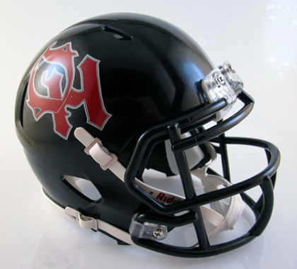 Oak Hills, Mini Football Helmet - T-Mac Sports
