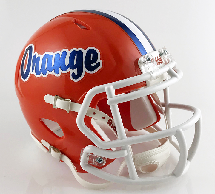 Olentangy Orange, Mini Football Helmet - T-Mac Sports