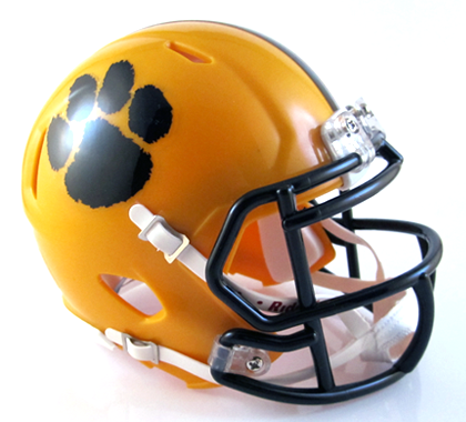 Paint Valley, Mini Football Helmet - T-Mac Sports