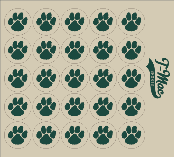 Paw Award Decals