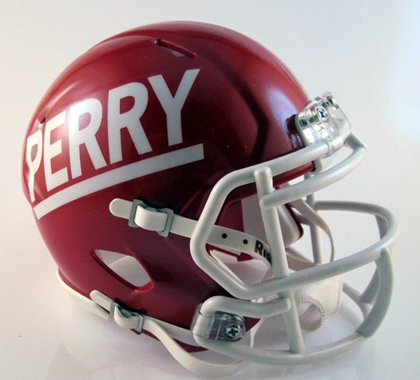 Perry, Mini Football Helmet - T-Mac Sports