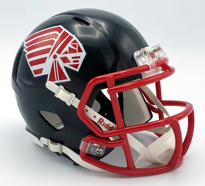 Piqua, Mini Football Helmet - T-Mac Sports
