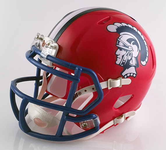 Portsmouth, Mini Football Helmet - T-Mac Sports