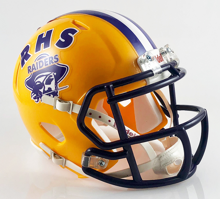 Reynoldsburg (2015), Mini Football Helmet - T-Mac Sports