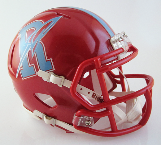 Ridgedale, Mini Football Helmet - T-Mac Sports
