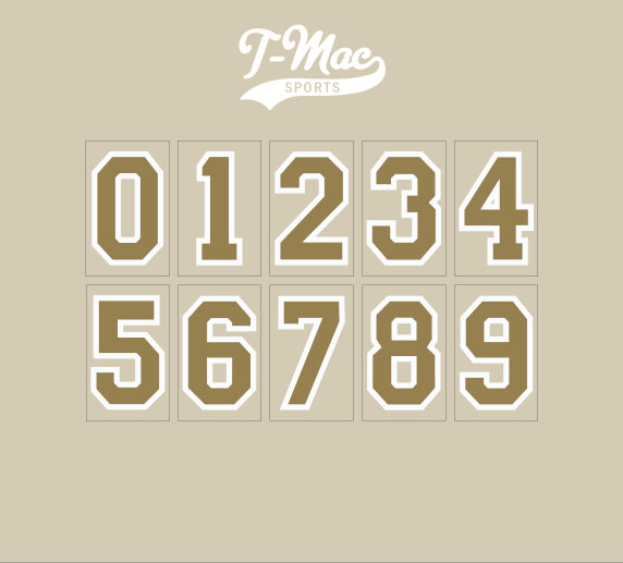 Saints Mini Numbers