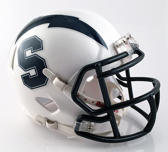 Sandusky, Mini Football Helmet - T-Mac Sports