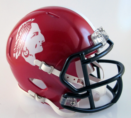 South Point (NC), Mini Football Helmet - T-Mac Sports