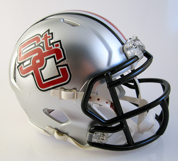 St. Clairsville, Mini Football Helmet - T-Mac Sports