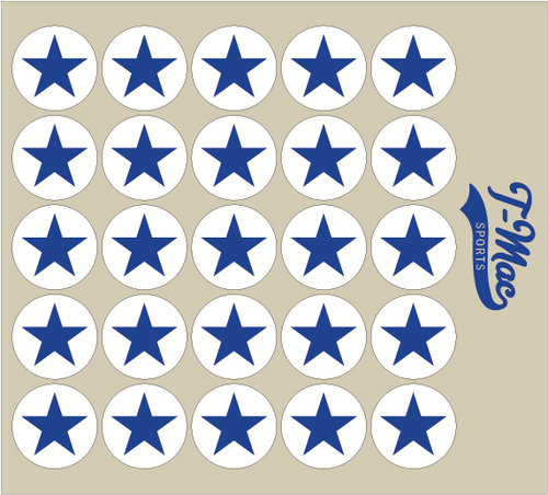 Star Award Decals (2)
