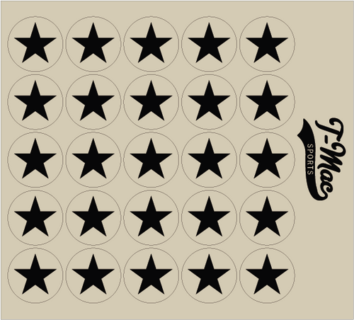 Star Award Decals