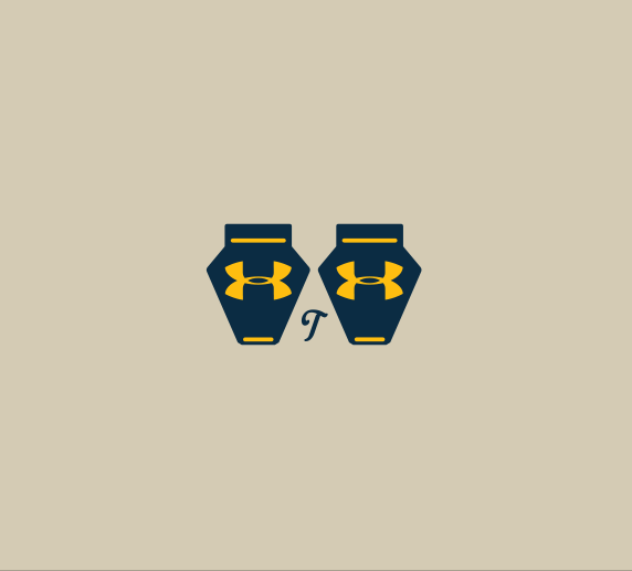 Mini UA Clip Decals, Mini Visor Clip Decals - T-Mac Sports