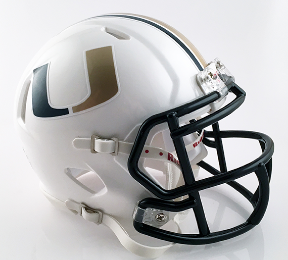 United, Mini Football Helmet - T-Mac Sports