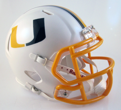 United (2015), Mini Football Helmet - T-Mac Sports