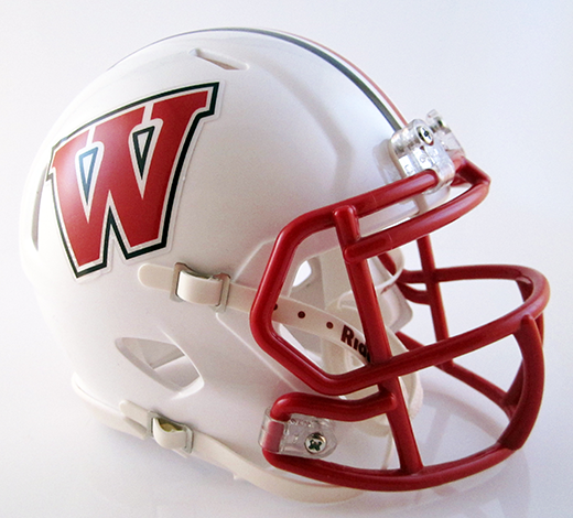 Wadsworth, Mini Football Helmet - T-Mac Sports