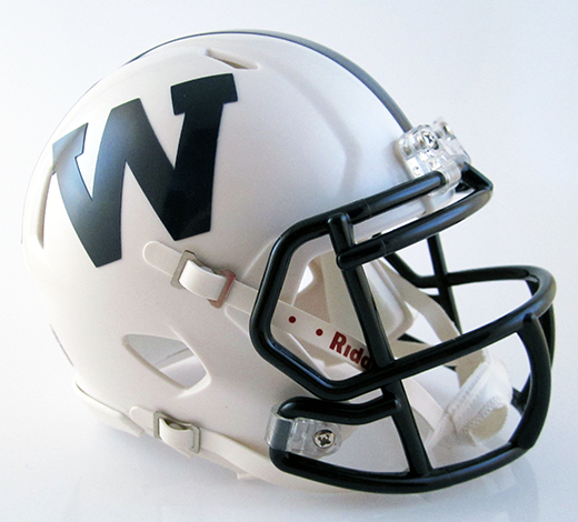 Warren (PA), Mini Football Helmet - T-Mac Sports