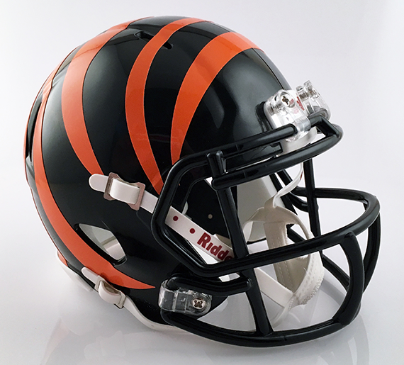 Washington (Massillon) (Black Alt), Mini Football Helmet - T-Mac Sports