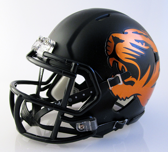 Washington (Massillon) (2014) Black, Mini Football Helmet - T-Mac Sports