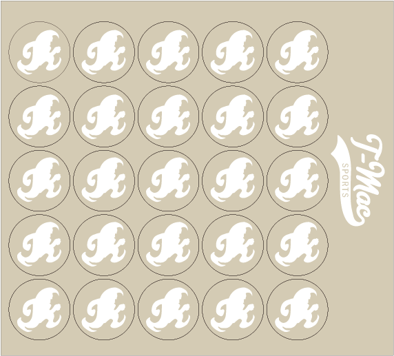 Wave Award Decals, Mini Award Decals - T-Mac Sports