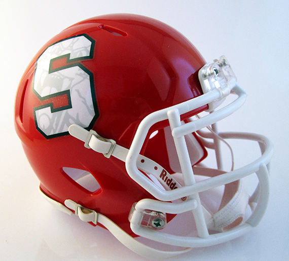 Westerville South, Mini Football Helmet - T-Mac Sports