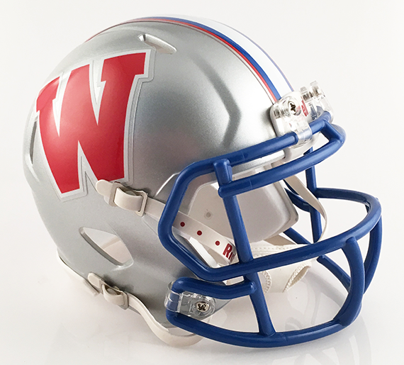 Westlake (TX), Mini Football Helmet - T-Mac Sports