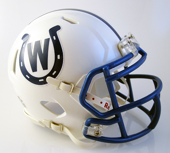 Wyoming (Cincinnati), Mini Football Helmet - T-Mac Sports