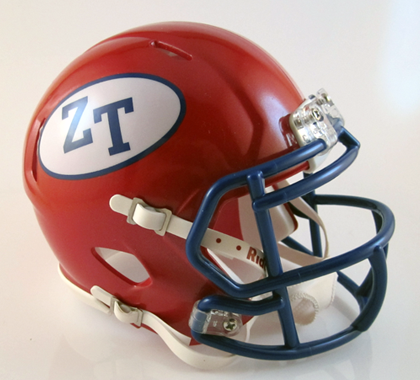Zane Trace, Mini Football Helmet - T-Mac Sports
