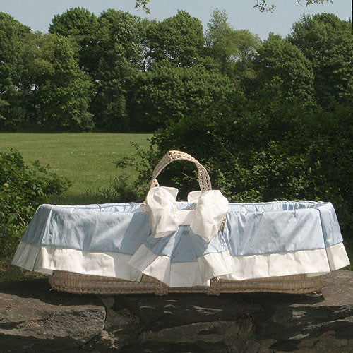 Newcastle Moses Basket by Lulla Smith