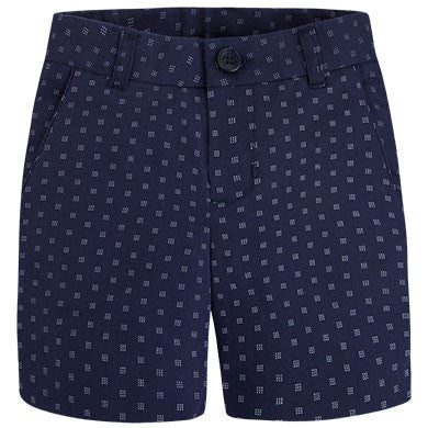 Formal Navy Bermudas