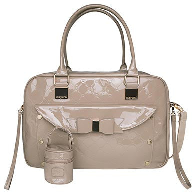 Beige Diaper Bag Set