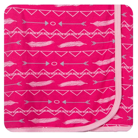 Print Swaddling Blanket in Prickly Pear Southwest