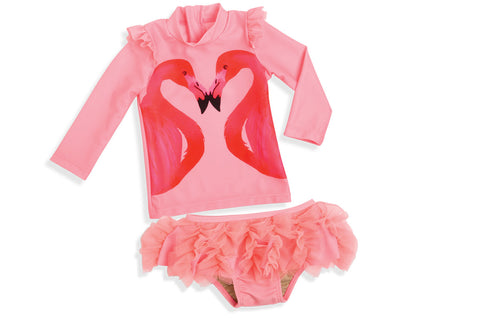 Flamingo a Go-Go 2 piece set