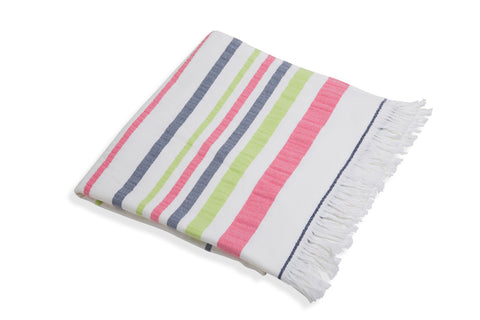 Woven Towel with Terry