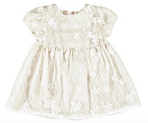 Embroidered Tulle Dress - Toddler