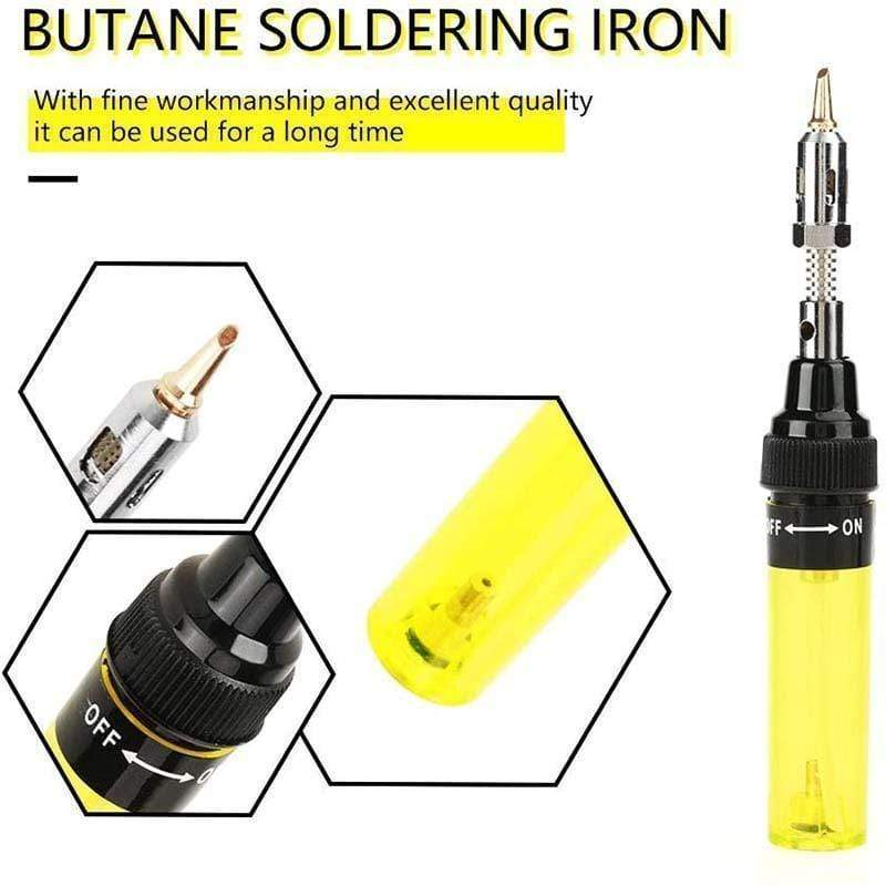 Portable Alkane Iron Pen Torch Welding Tool