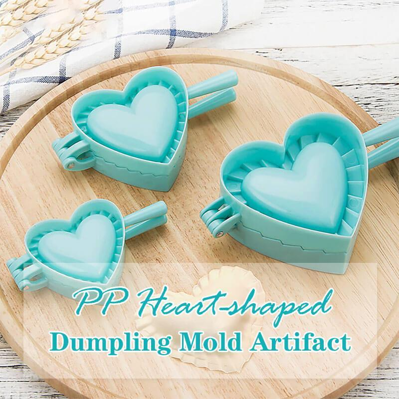PP Heart-shaped Dumpling Mold Artifact