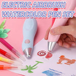 Electric Airbrush Watercolor Pen Set