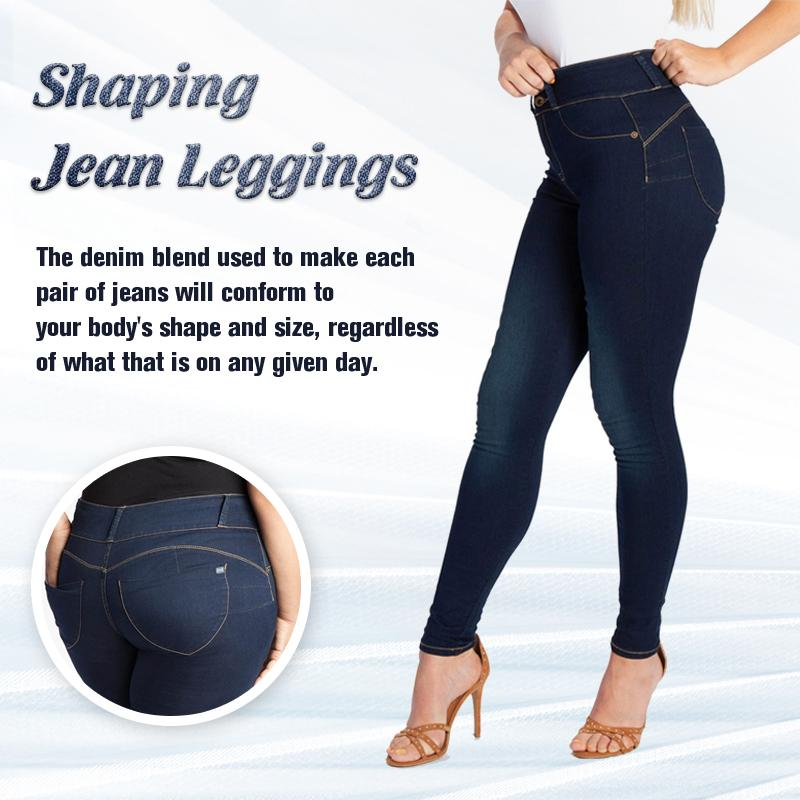Shaping Jean Leggings